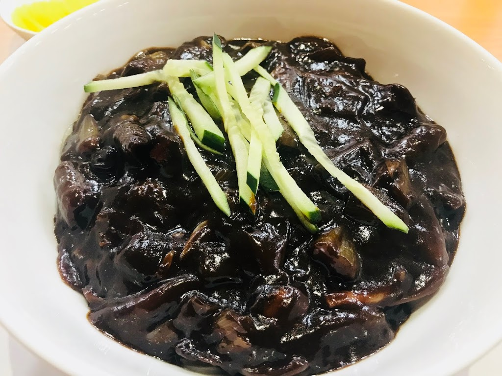Jajangmyeon and Tangsuyuk in Singapore - Noodle with Black Bean Sauce