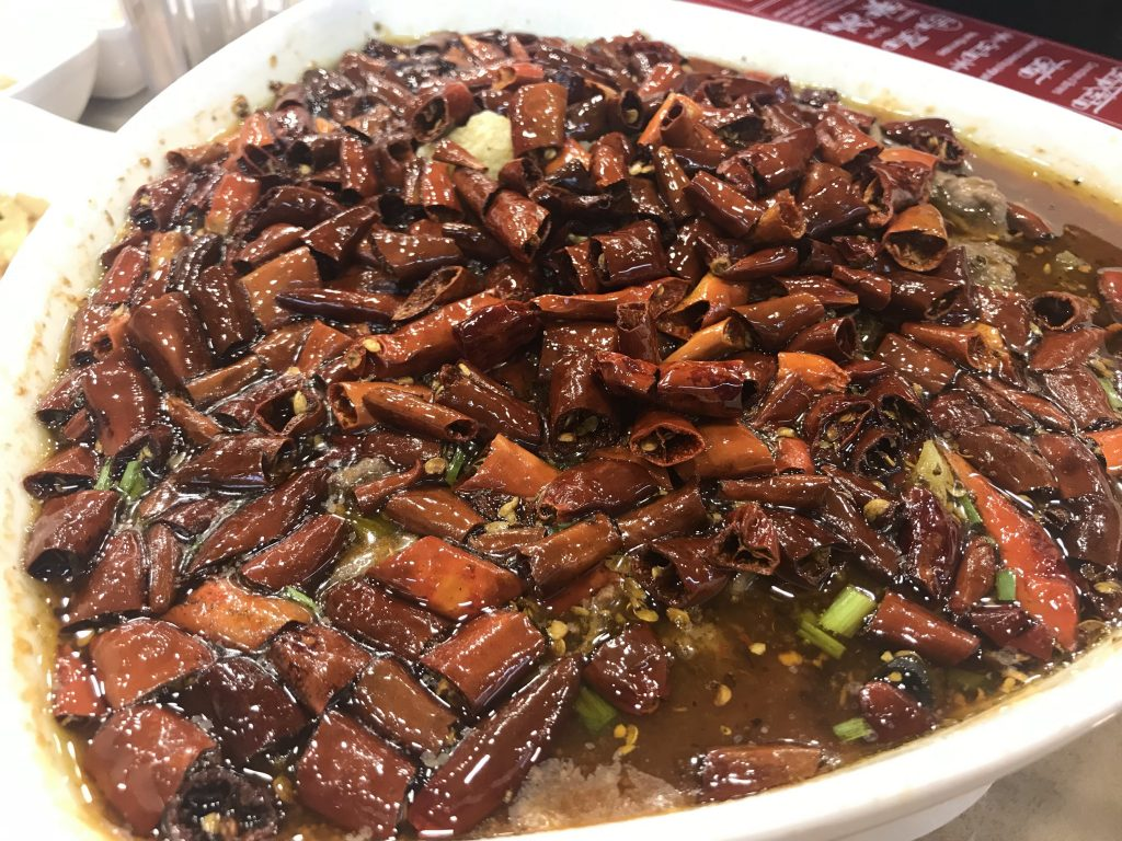 Reunion BBQ - Poached Sliced Beef in Hot Chilli Oil