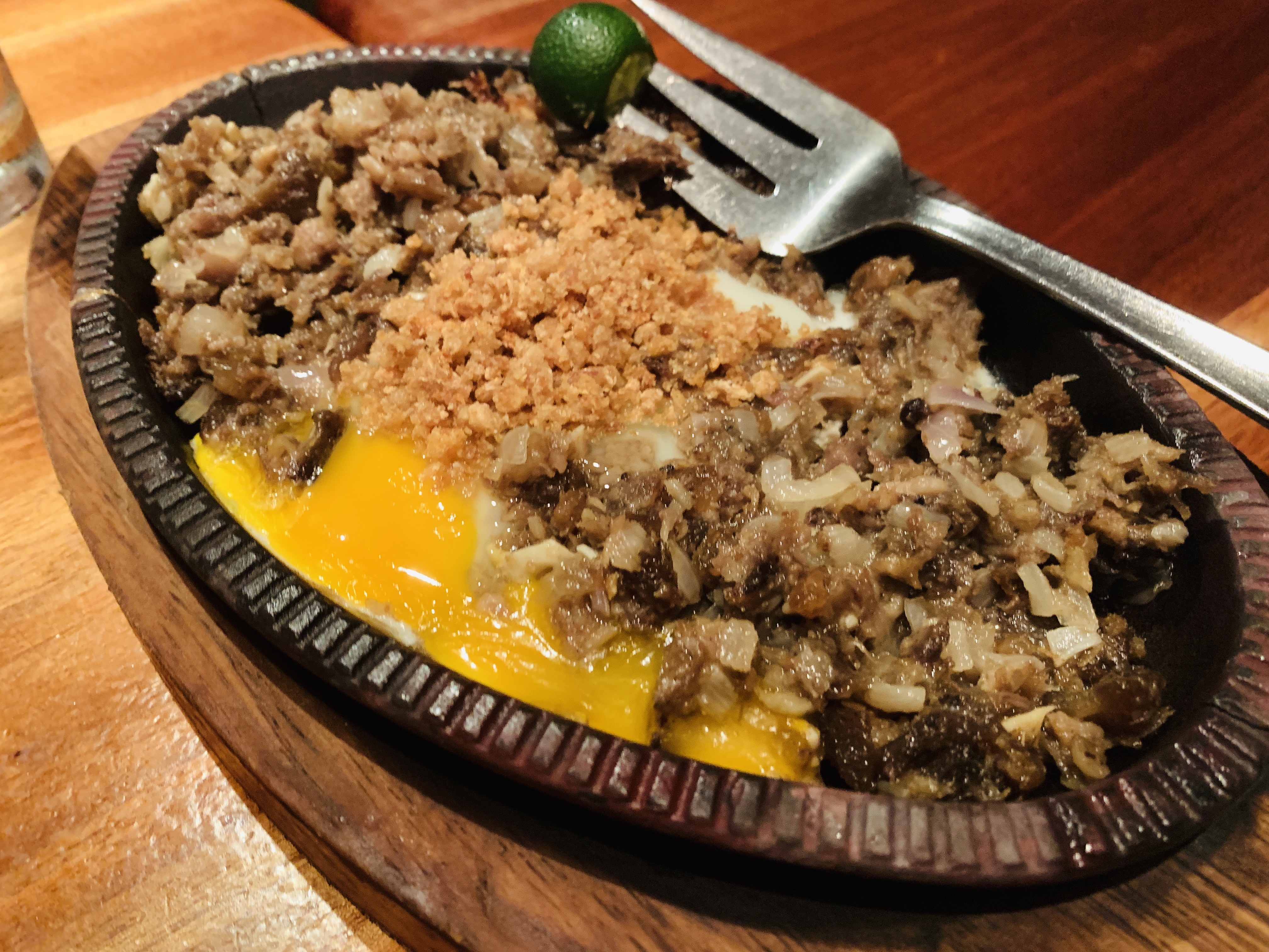 Gerrys Grill - Sizzling Sisig
