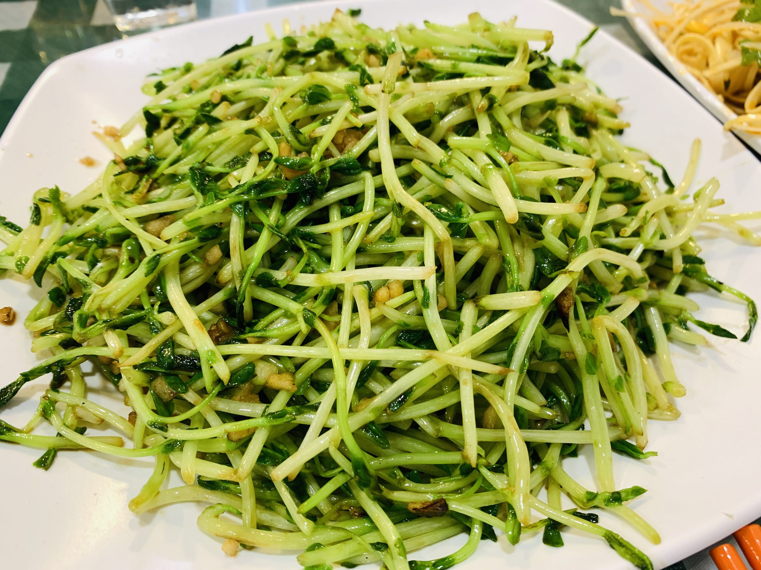 Chinese Cuisine - Garlic Bean Sprouts
