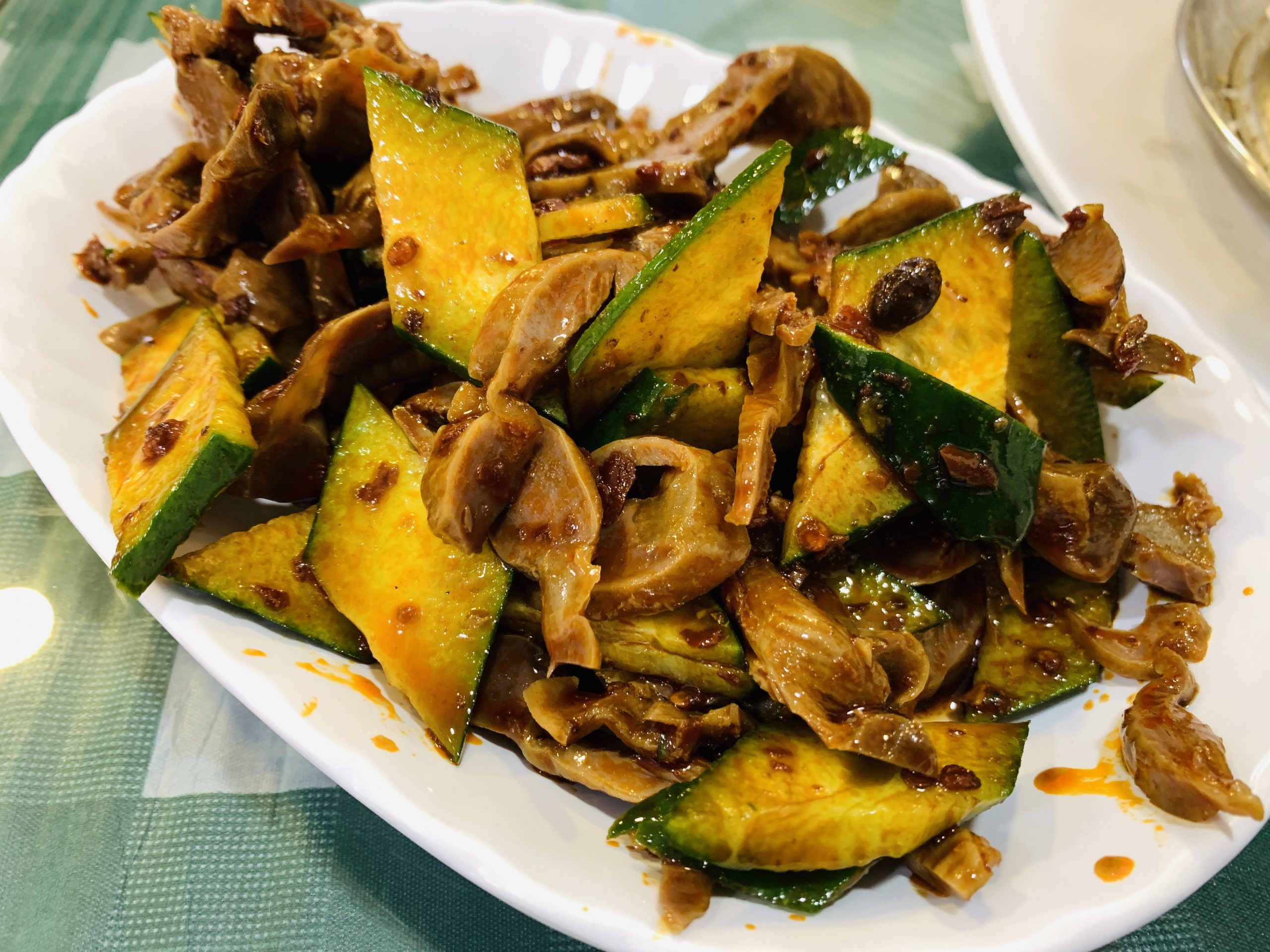 Chinese Cuisine - Mixed Chicken Gizzard Salad