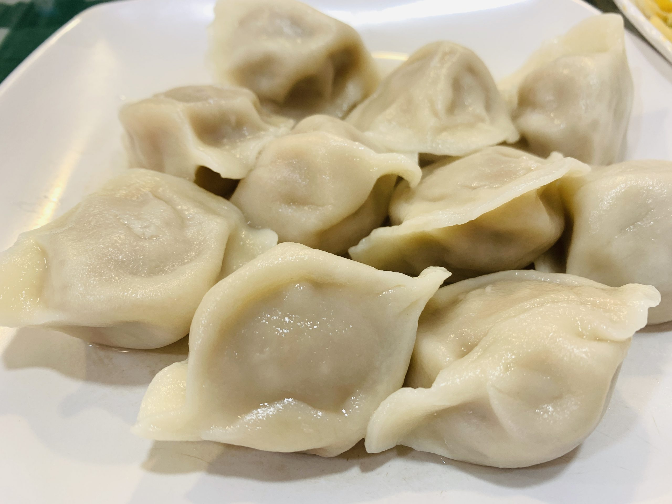 Chinese Cuisine - Pork with Long Cabbage Dumpling