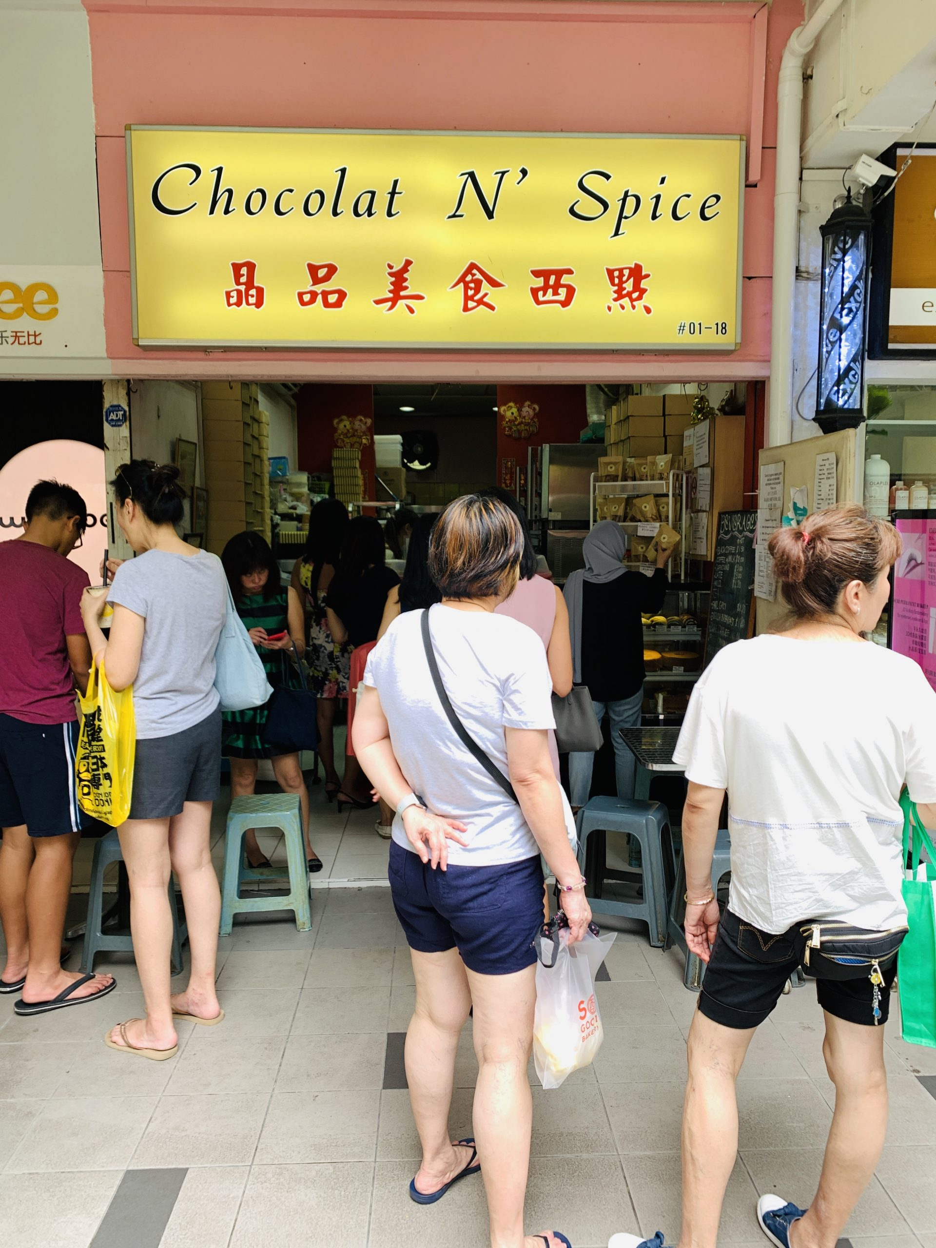 Chocolat N' Spice - Shop Front