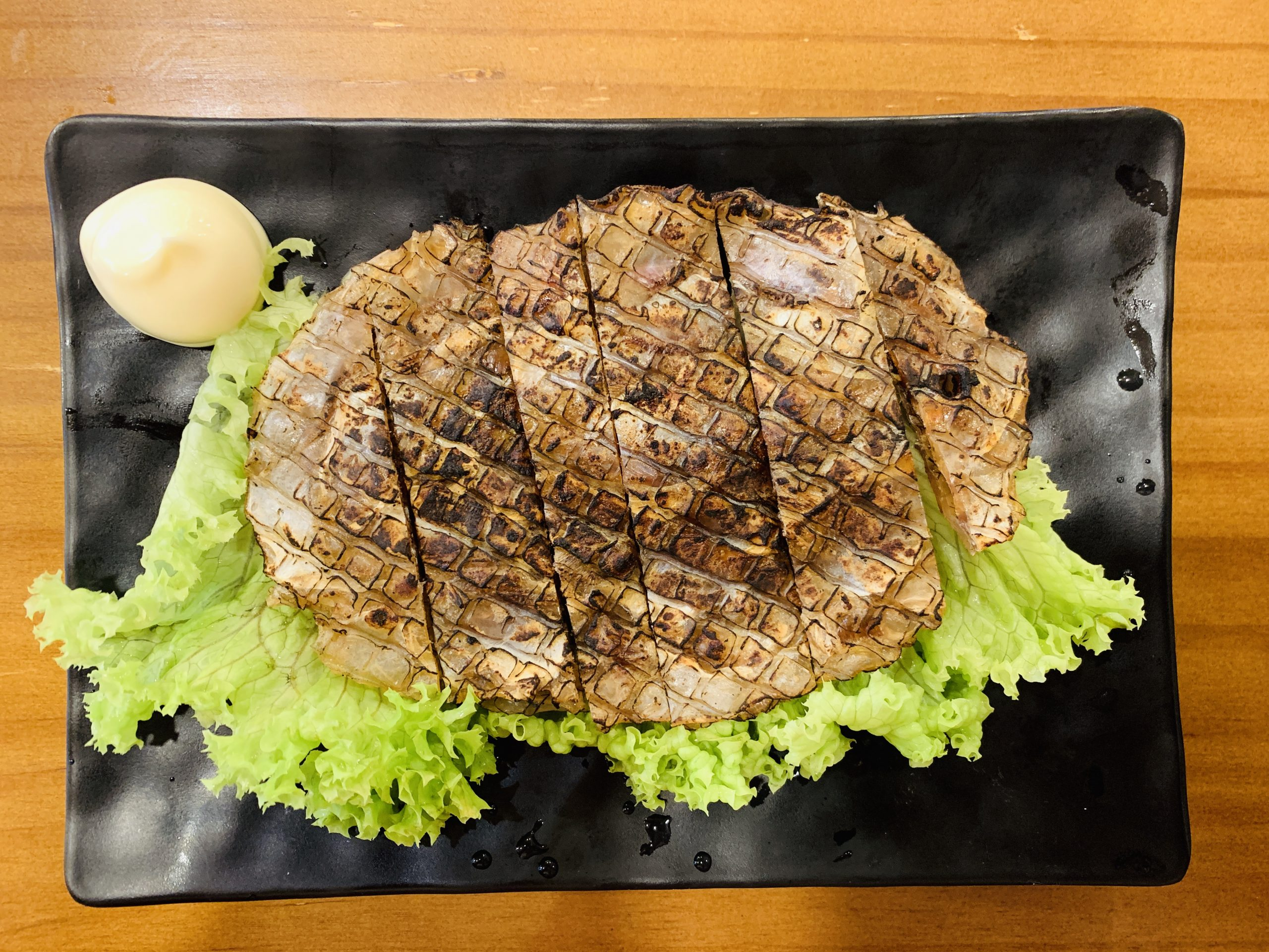 Huluruk Myeon House - Grilled Dry File Fish