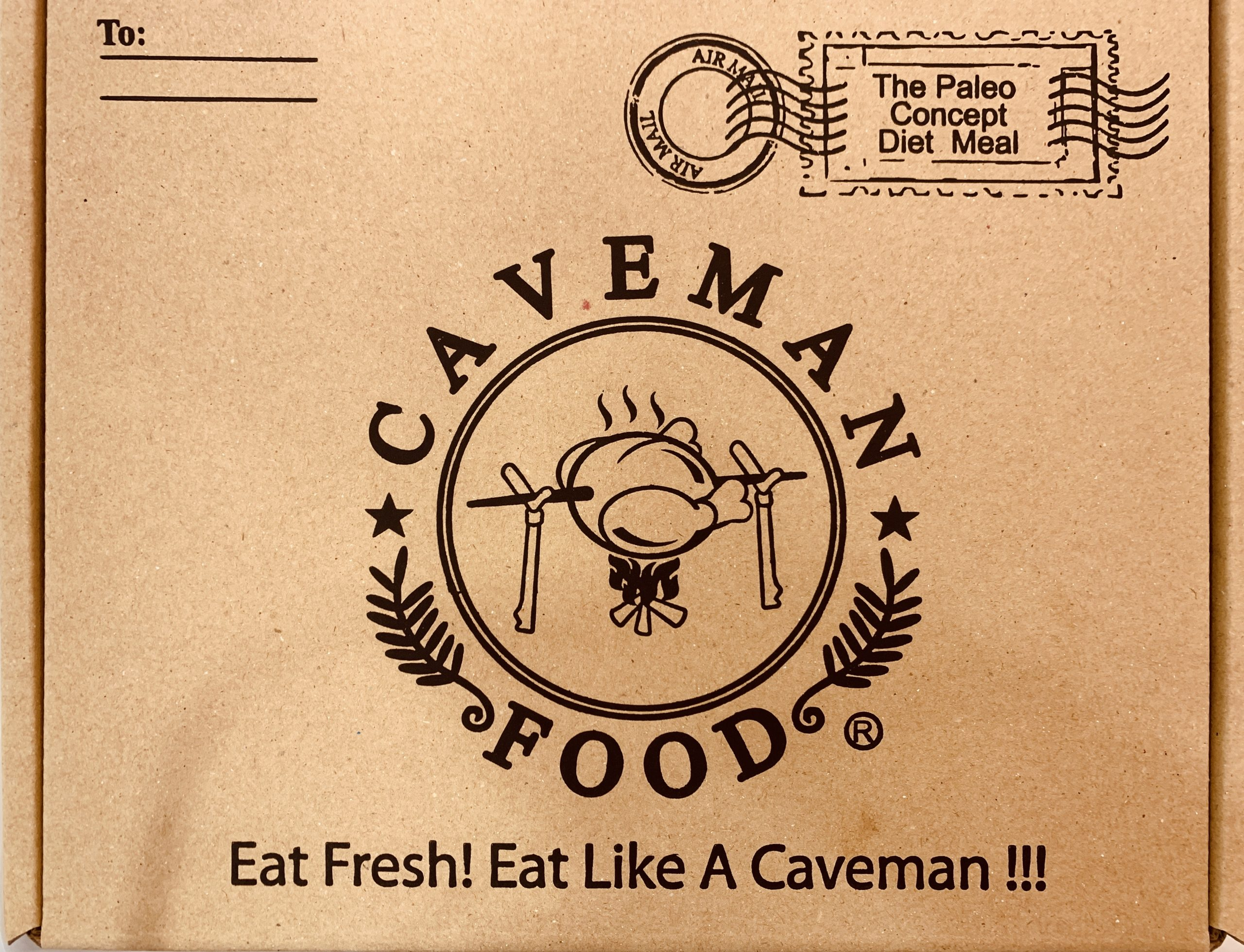 Caveman Food - Packaging