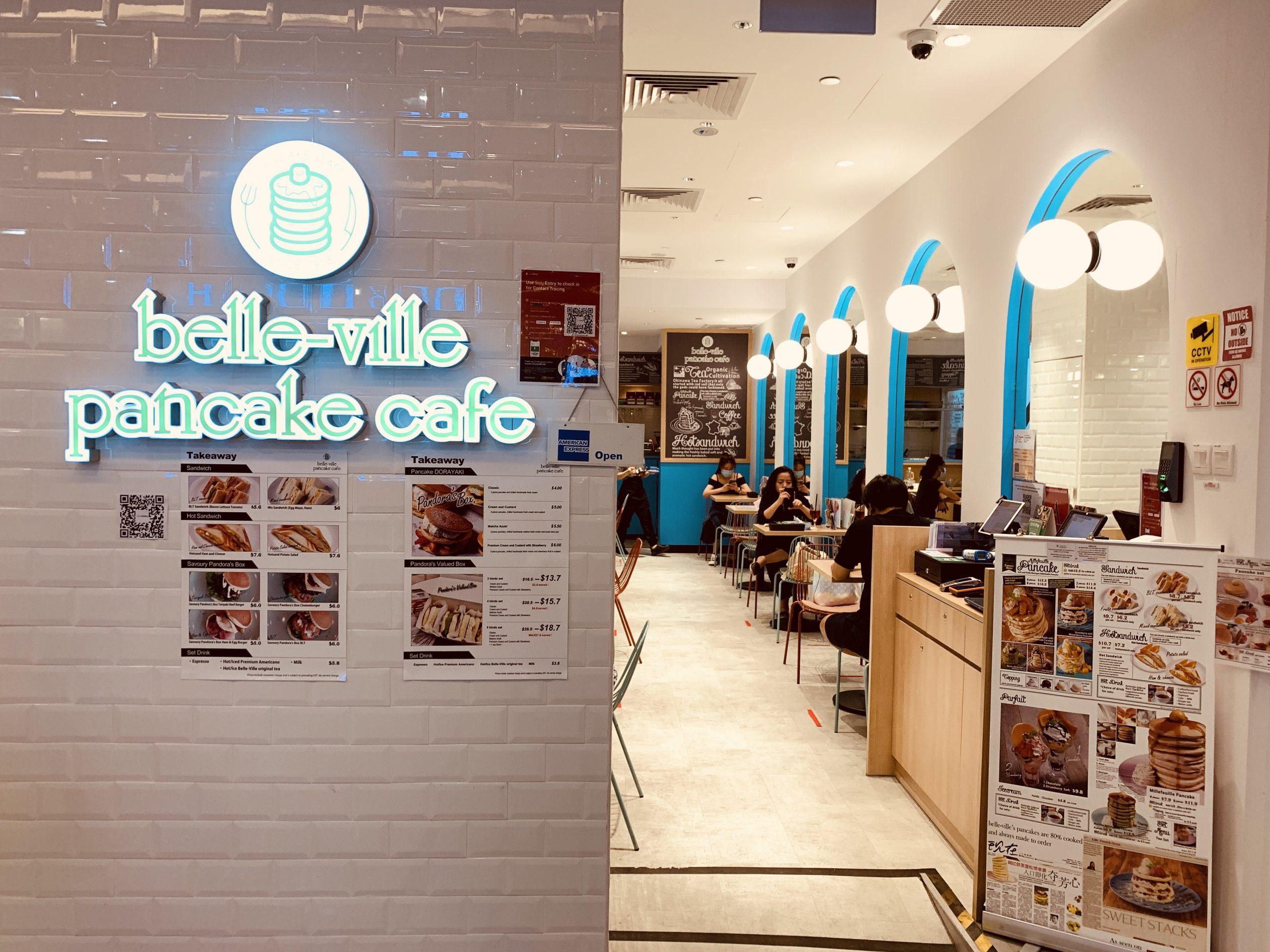 Belle-Ville Pancake Cafe - Restaurant Front