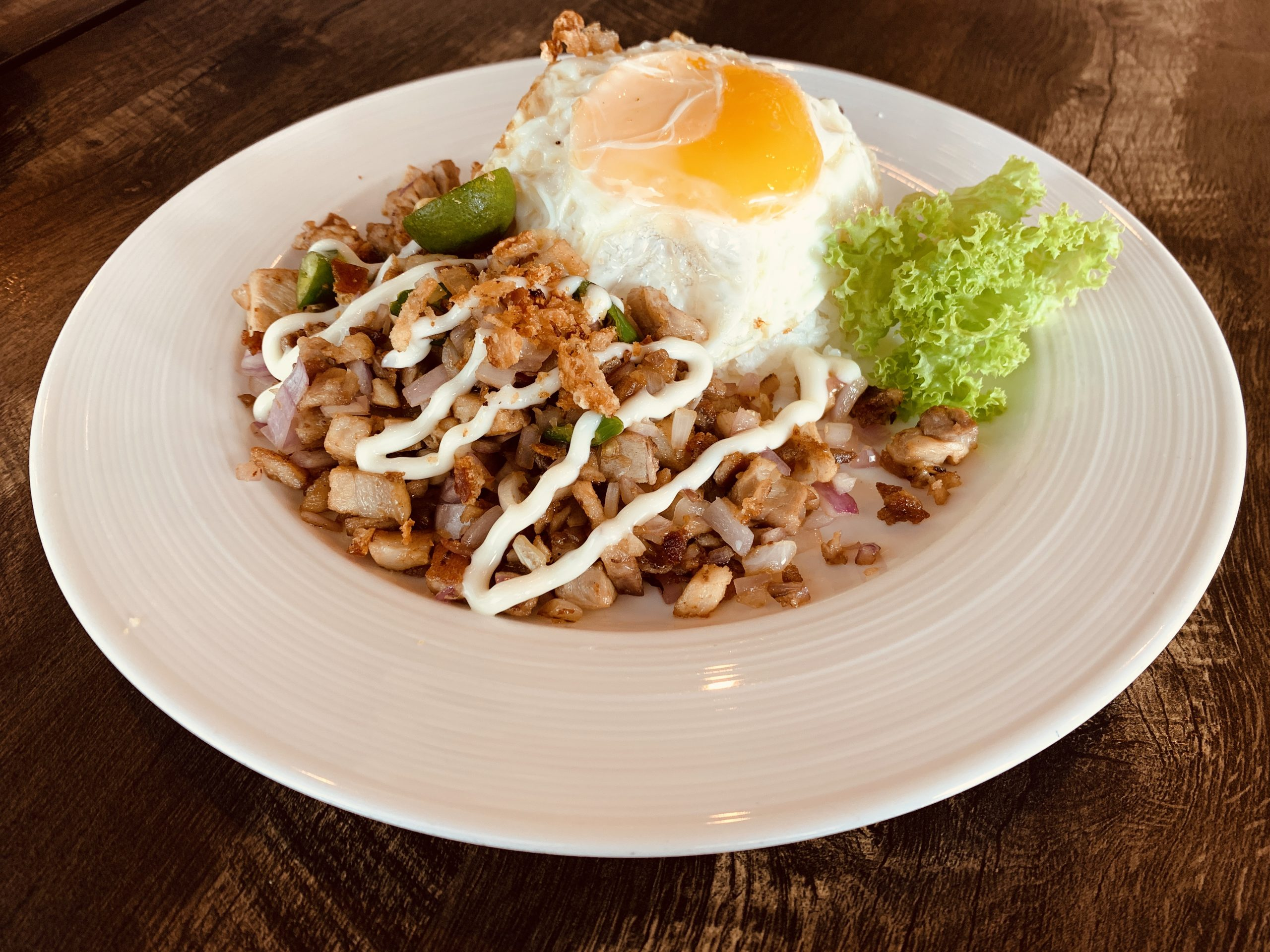 La Cafe & Bar by Masterpiece - Pork Sisig