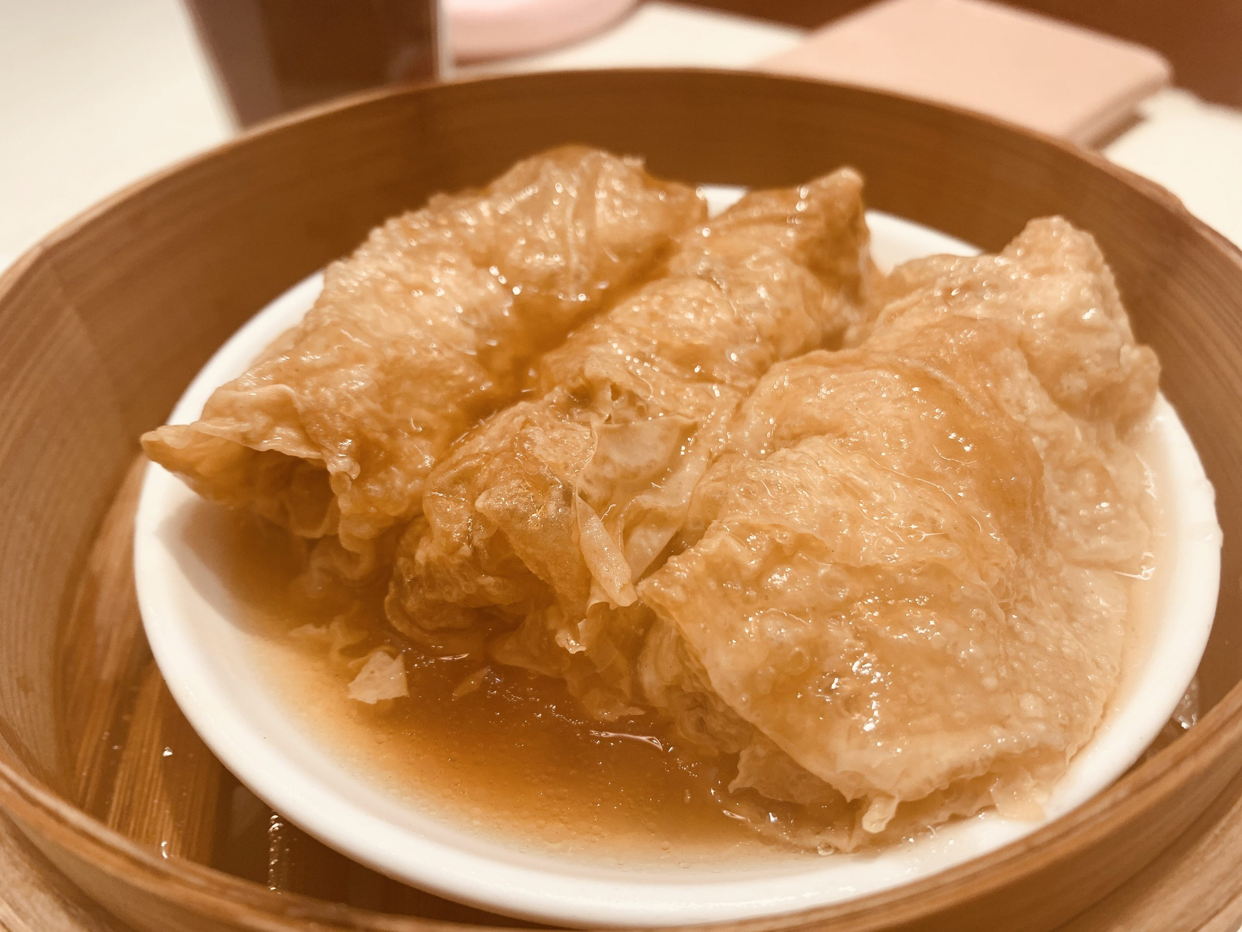 Treasures Yi Dian Xin - Steamed Beancurd Skin Roll with Oyster Sauce