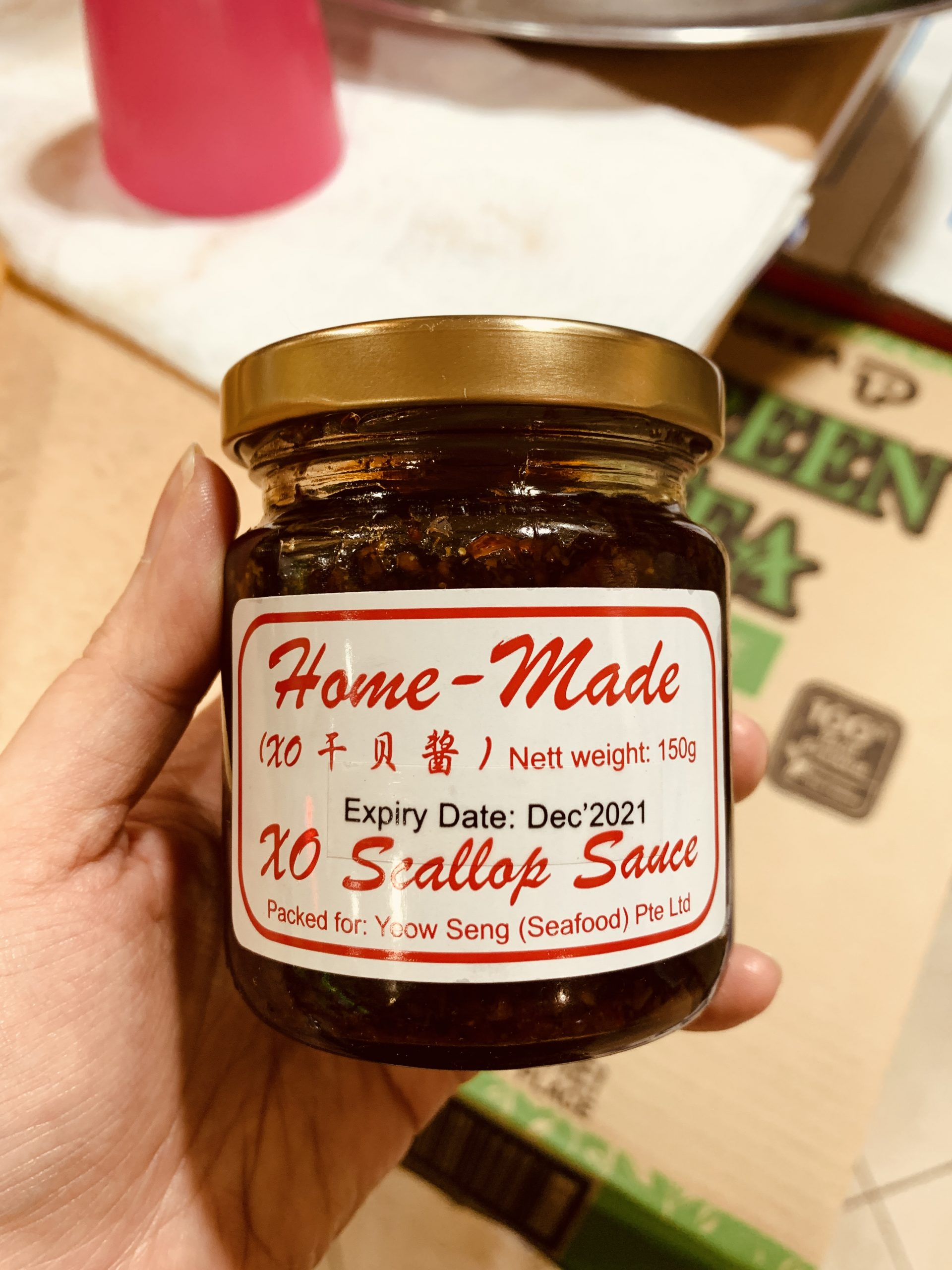 Rabbit Brand Seafood Delicacies - Home-Made XO Scallop Sauce