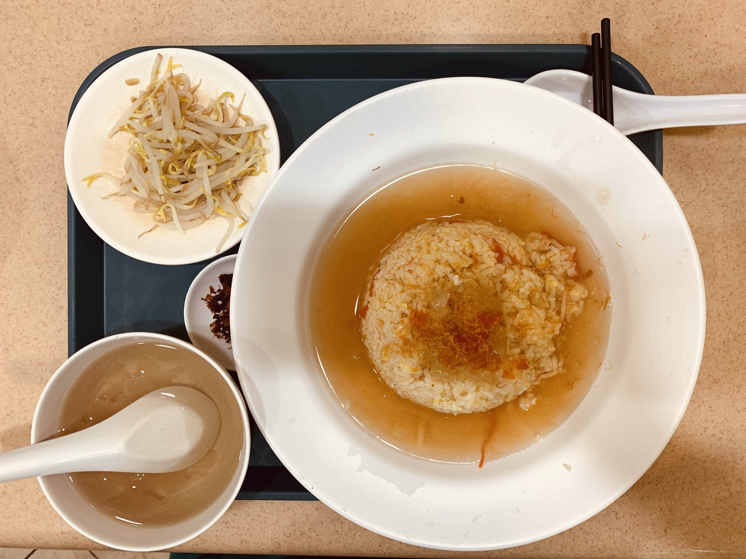 Rabbit Brand Seafood Delicacies - Set S2 Braised Shark's Fin with Fried Rice, Fish Roe & Bean Sprout