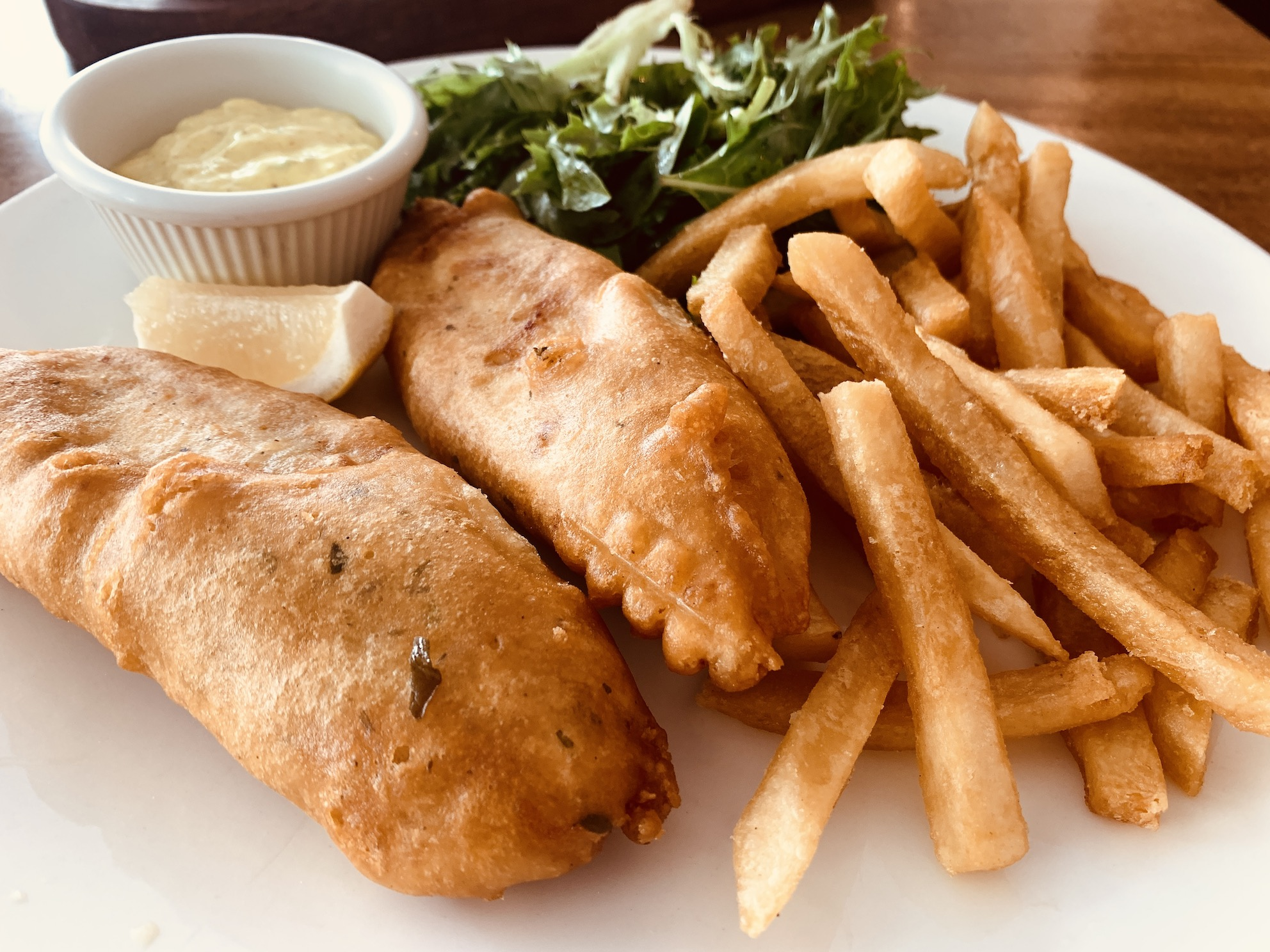 The Queen and Mangosteen - Scottish Haddock Fish & Chips