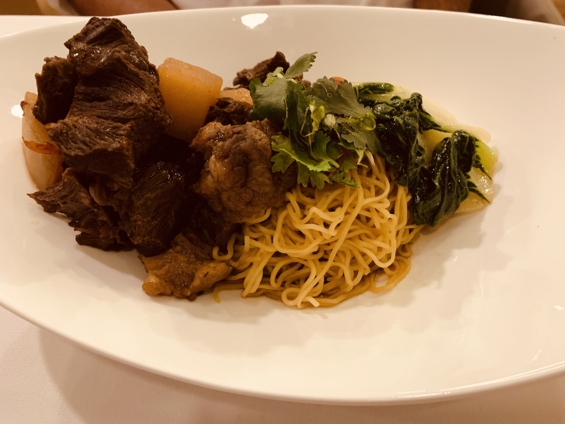 Amber West - Braised Beef Noodle