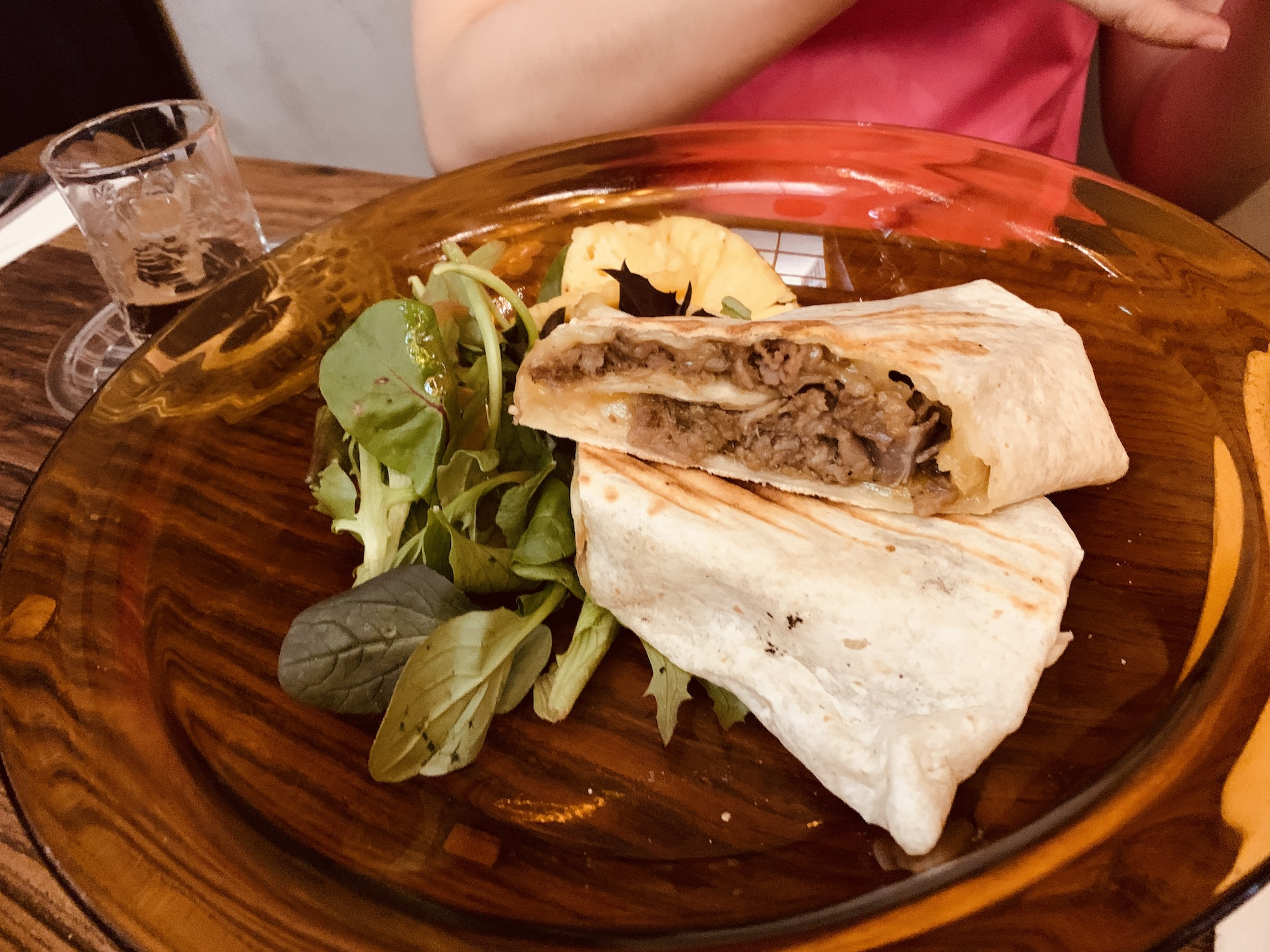 My Awesome Cafe - Spicy Thai Beef Wrap