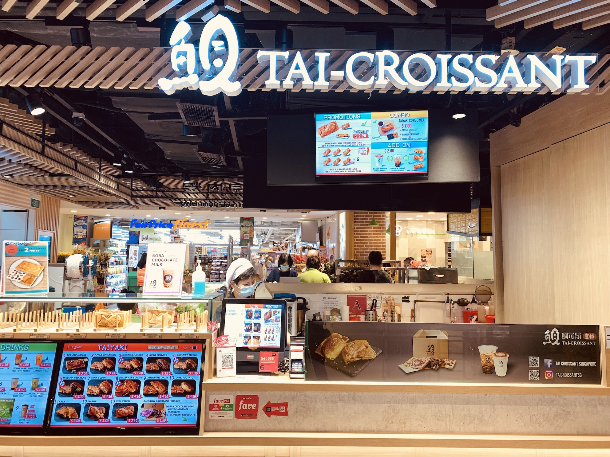 Tai-Croissant - Stall Front