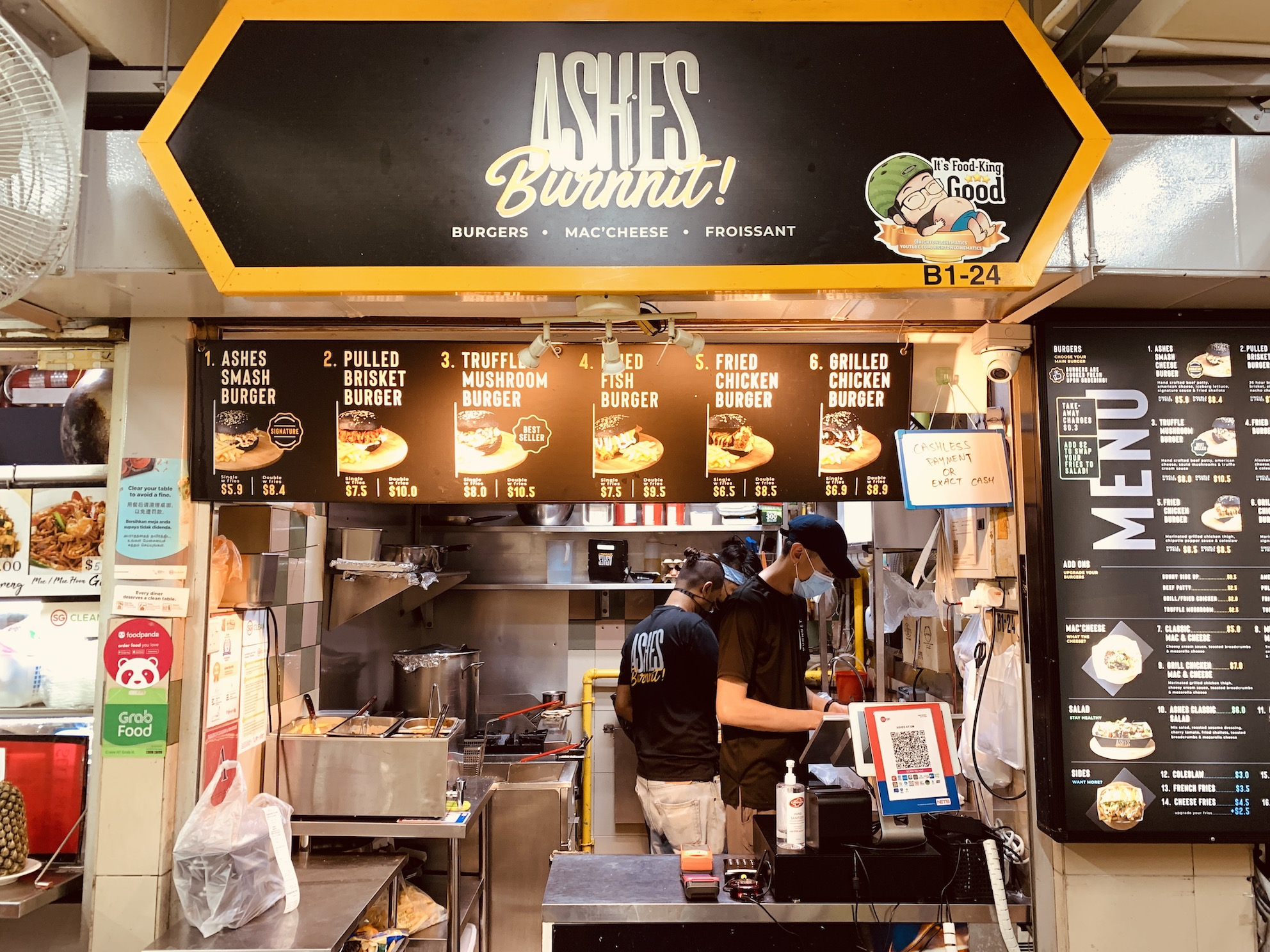 Ashes Burnnit - Stall Front